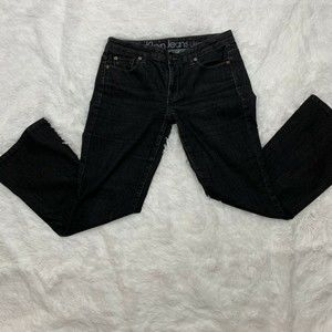 Calvin Klein Womens Ultimate Boot Jeans Black 10